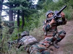 Jammu Kashmir Ceasefire Violation Pakistan Poonch India Retaliates