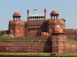 When The Tricolour Was 1st Unfurled At Red Fort On
