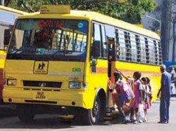 School Bus Meets With Accident At Siliguri Fifteen Student Wounded