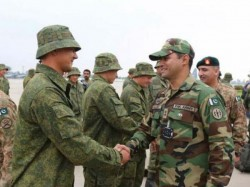 Russia Clarifies Joint Drill With Pakistan Not In Controversial Region Kashmir