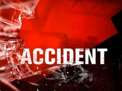 Ten People Injured A Road Accident At National Highway