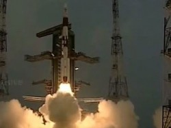 In Isro S Longest Mission Pslv Rocket Launched With 8 Satellites
