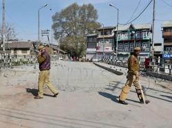 Curfew Re Imposed Most Parts Srinagar Major Towns Kashmir