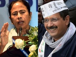 Mamata Banerjee Arvind Kejriwal Dine Rome Discuss On Elections