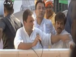 Rahul Gandhi Blames Bjp Rss After Shoe Attack