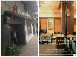 Mocambo S Rival Restrourant Place Counter Promotion Over Recism Row