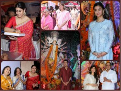 Pics Bollywood Celebrates Durga Puja