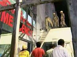 Killed As Fire Engulfs Sum Hospital Bhubaneswar Many Inj