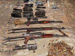 Arms Recovered At Sundarban West Bengal