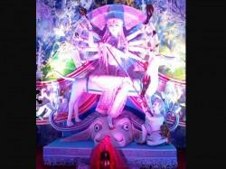 In Pics Durga Puja Celebrations At Burdwan