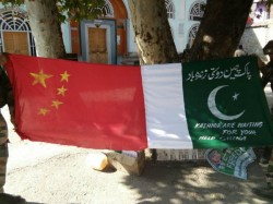 Chinese Flags Have Been Found Raids Kashmir