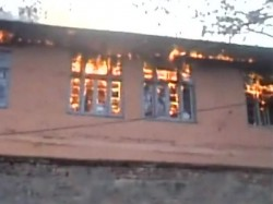 Schools Set On Fire Last 24 Hours Jammu Kashmir