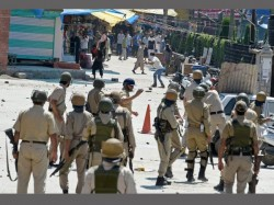 Curfew Srinagar After 12 Year Old Dies Pellet Firing Forces