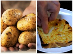Old Potatoes Can Be Converted Into Cheese With New Invention