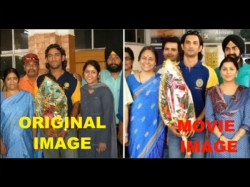 Reel Vs Real Life Ms Dhoni Family