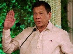 Philippines President Rodrigo Dutarte Says After Returning Country