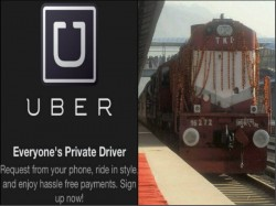 Uber Looks To Tie Up With Railways For Pick Updrop To Station