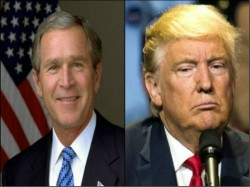 Us Election 2016 Former President George W Bush Didnot Vote For Either