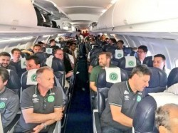 Plane Carrying Football Players From Brazil Crashes Colombia