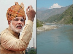Water That Belongs India Cannot Be Allowed Go Pakistan Pm Modi