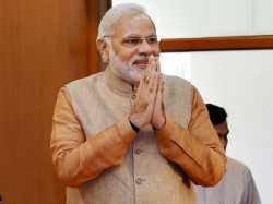 Thank People For Faith Bjp Says Modi On First Poll After Note Ban