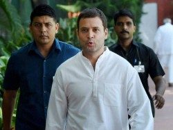 Rahul Gandhi Detained Police From Orop Protest Site At Jantar Mantar