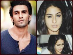 Saif Ali Khan S Daughter Sara Make Grand Debut With Ranveer Singh