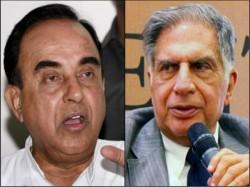Ratan Tata Most Corrupt Chairman Tata History Subramanian Swamy