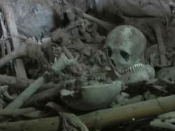 Skeleton Found The Back Office Machlandapura Ngo