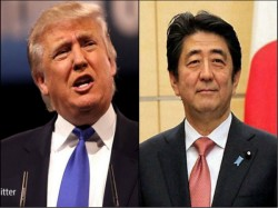 Donald Trum Can Be Trusted Says Japan Pm Shinzo Abe