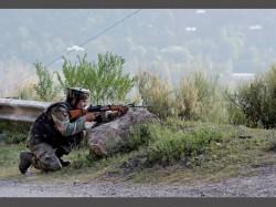 Terrorists Attack Army Unit Nagrota Near Jammu