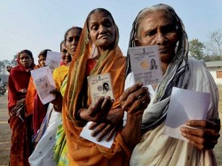 First Vote After Notes Ban By Polls 6 States