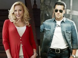 Iulia Vantur I Would Love Give My Love Respect Salman Khan