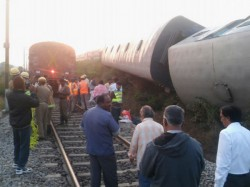 Dibrugagarh New Delhi Capital Express Derails Alipurduar