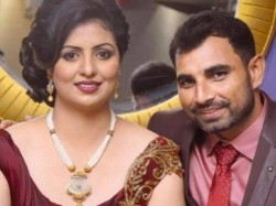 Mohammed Shami Line Fire Over Wife S Dress Couple S Photo