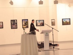 Gunfire Kills Russian Ambassador Turkey Attack At Photo Exhibit