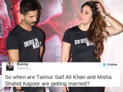 Kareena Kapoor Baby Taimur Ali Khan Love Story With Shahid Daughter Misha Trends On Twitter