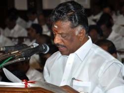 Jayalalithaa Loyalist O Panneerselvam Is New Tamil Nadu Cm