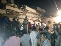 Feared Dead As 6 Storey Building Collapses Hyderabad