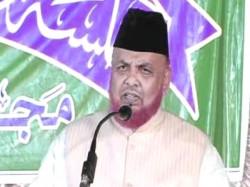 Bengal Bjp Continues Attack Imam Tipu Sultan Mosque Barkati
