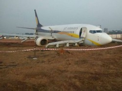 Goa Jet Airways Flight Veers Off Runway 15 Passengers Injured