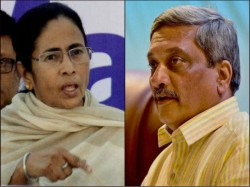You Don T Know How Write A Cm Mamata Hits Back At Parrikar