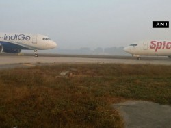 Close Call At Delhi Airport As Indigo Spicejet Aircraft Come Face To Face