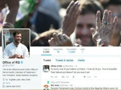 Day After Rahul S Twitter Account Hacked Congress Party S Account Hacked
