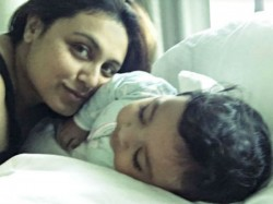 Here S The First Picture Adira Shared Mommy Rani Mukerji Chopra