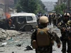 Twin Taliban Blasts Near Afghan Parliament Kill Several