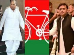 Ec To Hear Mulayam Singh Yadav Akhilesh Yadav S Claim To Cycle Today
