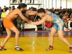 Baba Ramdev Challenges Russian Olympic Wrestling Medallist To Dangal
