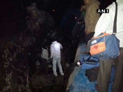 Several Dead Many Injured As Train Derails Andhra Pradesh Rescue