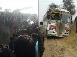 Bus Truck Collision Etah U P